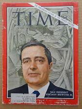TIME magazine J23 1967 Yale President KINGMAN BREWSTER JR.-Roy Lichtenstein
