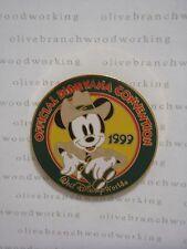 1999 Official Disneyana Convention MICKEY MOUSE LOGO Safari Adventure Disney Pin