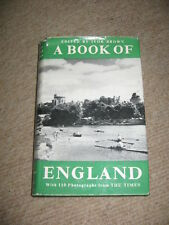 A Book Of England edted by Ivor Brown HB 1958 110 photos from The Times