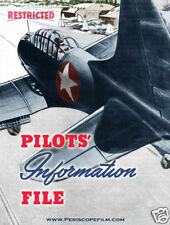 WWII USAAF FIGHTER AND BOMBER PILOT Instruction BOOK