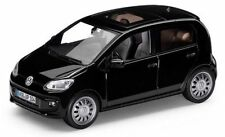 NEW GENUINE VW UP 4 DOOR DEEP BLACK PEARL 1:43 SCALE DIECAST MODEL CAR