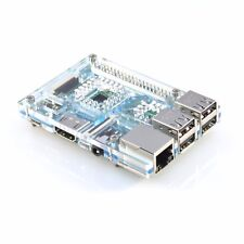 Aqua Blue Acrylic Case for Raspberry Pi 3 Model B VaultPi