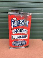 More details for prices motor lubricant motor oil tin can advertising garage automobilia motoring