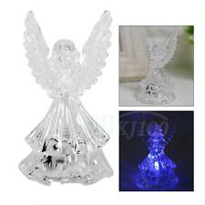 Acrylic Angel Color Changing LED Night Light Lamp Home Party Bar Cafe Decoration