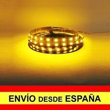 Tira LED SMD 90cm Autoadhesivo Coche Decoración Acuario Amarillo a0965