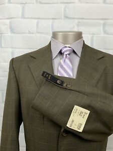 NWT HARDWICK Clothes Men's 3 Btn Check Multicolor Sport Coat Blazer Sz 39 R