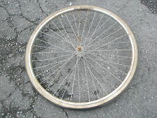 Altes Fahrrad Vorderrad Rad Fahrradrad Stahlfelge 37 - 622 gebraucht verrostet !