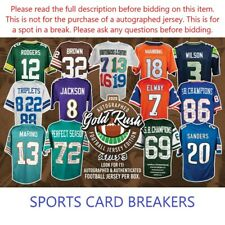 San Francisco 49ers 2020 Gold Rush Series 3 Football Jersey (1)Box Break #21