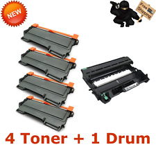 1PK DR420 + 4PK TN450 Toner TN420 Drum For BROTHER DCP7060D DCP7065DN MFC-7860DW
