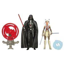 Star Wars Rebeldes 3.75 pulgadas misión espacial Darth Vader Y Ahsoka Tano figura