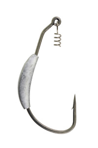 Berkley Fusion19 Weighted Swimbait Hook, Size 3/0, Pack of 4