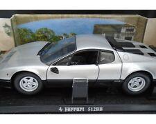 Ferrari BB 512 KYOSHO Silver 1:18 Steel Vintage Licensed by Ferrari—Original Box