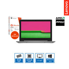 "Lenovo Ideapad 1 11ADA05 11.6"" Light Weight Laptop AMD Athlon 3050e, 4GB, 64GB"
