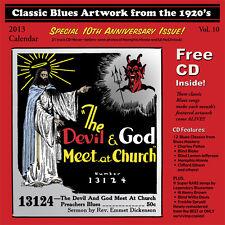 John Tefteller's Blues Images Calendar 2013 + FREE CD Paramount Race Record Art