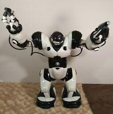 """robot AI Robosapien Humanoid 8081 Toy R/C Robot 14"""" Black/White wowwee toy"""