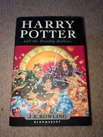 FIRST EDITION Harry Potter Deathly Hallows by J.K Rowling 2007 Hardback