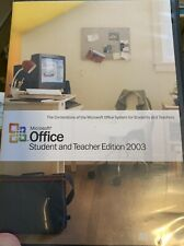 Microsoft Office 2003, Word97, Outlook98, Norton SystemWorks98,01, Autosketch 5