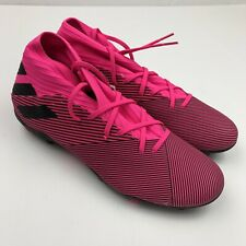 Men's ADIDAS NEMEZIZ 19.3 FG Soccer Cleats Shoes Pink Sz 11 F34388
