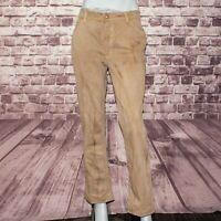 JUST CAVALLI Women's Denim Jeans Brown Beige Size 34 48 Made in Italy