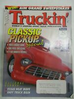 TRUCKIN' MAGAZINE FEBRUARY 1999 CHEVY BILLET GRILLE INSTALL F-100 SMOOTH FIREWAL