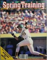 Spring Training Vtg 1989 Baseball Magazine - Jose Canseco - No Label - EX