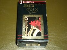 GOLDEN SAX FAVORITES<>VARIOUS <>3  Audio CASSETTES ~Canada. Tape *  C-4-5625
