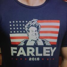 the Chive *Authentic* Chris Farley for President 2016 Tee 2XL XXL