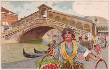 8071) VENEZIA IL PONTE DI RIALTO. ILLUSTRATORE TAFURI.