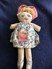 small antique cloth doll