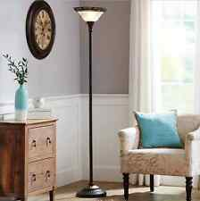 Floor Lamps For Living Room Reading Bedrooms Vintage Pole Light Glass Antique