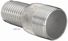 "ALUMINUM HOSE BARB KC KING COMBINATION NIPPLE 2"" NPT FOR 2"" ID HOSE <SF200A"