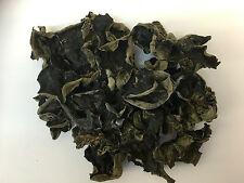 Dried Black Fungus Mu Er Chinese Wood Ear Jew's Ear Food Mushroom Natural 200g