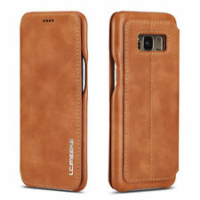For Huawei P20 Pro / Lite Slim Flip Vintage Leather Case Card Wallet Cover Stand
