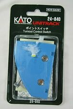 """N Scale Kato 20-202 #6 Right Hand Electric Turnout Switch R28 1//4/"""" 15 Deg J15782"""