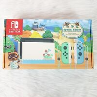 Nintendo Switch Animal Crossing New Horizons Console Teal Special Edition 32GB