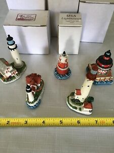 Lighthouse set of 5