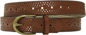 Mossimo Womens Narrow Perf Perforated Belt