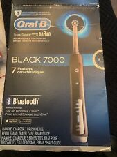 Oral-B Black 7000 SmartSeries Power Rechargeable Electric Toothbrush with...
