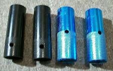 4 Alloy Bike Pegs BMX (2 blue and 2 Black); j11