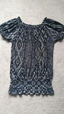 Women's Peasant Top by New Women Design Size S