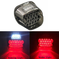 Smoke Lens Tail Brake LED light For HARLEY Custom Motorcycle Stop Lamp