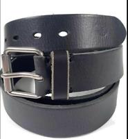 Dockers Black Big & Tall Size 52 Genuine Leather Belt NEW