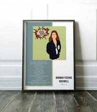 Custom Lana del Rey Norman Fucking Rockwell Album Tracklist Poster 2