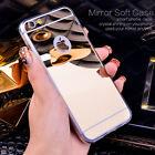 IPhone caso LUXURY Miror ALLUMINIO SPECCHIO Custodia copertura per Apple 6/6S/7