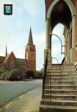 BG35933 wuustwezel kerk en oud gemeentehuis belgium