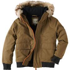 Manteaux, vestes et tenues de neige marrons pour garçon de 10 ans
