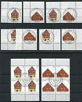 Bund 2823 - 2824 Eckrand oder Viererblock gestempelt Vollstempel Berlin ETSST