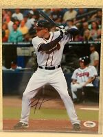 Freddie Freeman Signed Atlanta Braves 8x10 Photo PSA/DNA