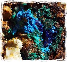 15LB Turquoise Shattuckite Azurite Malachite Chrysocolla Rough Stone Bisbee, AZ