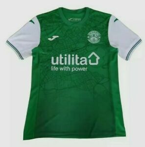 Hibs Home Shirt (Hibernian FC) SPFL/SPL - Scottish Football Jersey